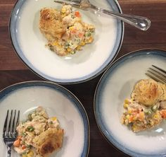 """This is definitely one of my most cherished recipes. Anytime I make this  people tell me they've never had chicken pot pie that tastes like this.  Maybe it's the spice from the pepper jack cheese or the fresh grated nutmeg  that instantly makes this dish taste like """"home."""" All I know is"""