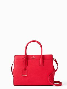 cameron street candace satchel, rooster red