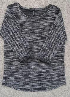 Kup mój przedmiot na #vintedpl http://www.vinted.pl/damska-odziez/dlugie-swetry/17837853-grunge-sweterek-hm-divided-szary-melanz-rock-oversize-m