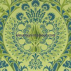 Bazaar green | Bazaar Eijffinger | kleurmijninterieur.nl