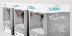 Glamox Aqua Signal US + EU on Packaging of the World - Creative Package Design Gallery