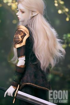 #Egon The #Elf #Knight  #WITHDOLL #Limited Edition #makeup #faceup #clothing #sword #bjd #doll #Creamwhite #skin http://www.withdoll.com