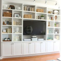 Entertainment center; To do once things settle down