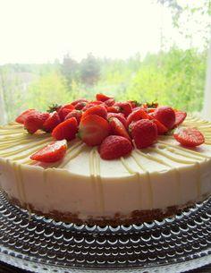 Dr. Sugar: Sitruuna-valkosuklaa Moussekakku Cake Recipes, Cheesecake, Brunch, Sugar, Baking, Desserts, Food, Cake Ideas, Kitchen