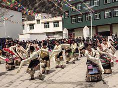Tibetans Celebrating Losar in Tibet and All Over the World via @yowangdu