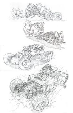 Vehicle Art by Miguel Lopez (Vehicles)