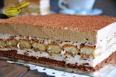 Few Delicious Coffee Recipes for You – Drinks Paradise Polish Desserts, Polish Recipes, Sweet Recipes, Cake Recipes, Cake Cookies, Cupcakes, Different Cakes, Sweets Cake, Coffee Recipes