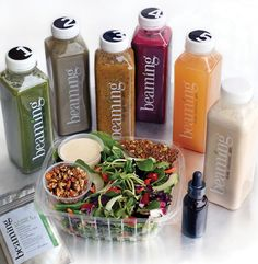 Beaming in Del Mar offers a 3-day cleanse with juice, nut milk and a restaurant-quality salad that leaves participants feeling less deprived.