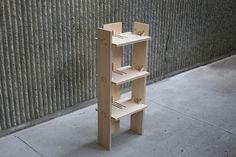 Knock-Down Furniture - Shel Han's Line of Wooden Moveables Can be Assembled Without Excess Parts (GALLERY)