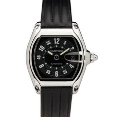 Vintage Cartier Roadster Stainless Steel Men's Automatic Watch