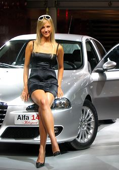 Nice Cars girl 2019 alfa romeo Check more at autoboard.pro/… Nice Cars girl 2019 alfa romeo Check more at autoboard. Car Show Girls, Car Girls, Sexy Cars, Hot Cars, Motard Sexy, Up Auto, Girly Car, Alfa Romeo Cars, Best Muscle Cars