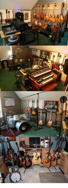 Rick Bowles Guitar Room / Man Cave