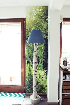 Im Wohnzimmer Hat Sich Nochmal Was Getan, Wir Haben Unsere Neue Stehlampe  Fertig Und Juchu