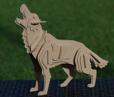 Dire Wolf 3D animal kit: Game of Thrones inspired by OzToymaker