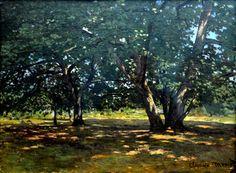 Claude Monet - Fontainebleau Forest, 1865
