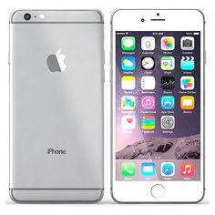 """iPhone 6 Plus Prateado - Apple - 12MP - 5MP - 128GB - 4G - Tela 5.5"""" Compre em oferta por R$ 2099.00 no Saldão da Informática disponível em até 6x de R$349,83. Por apenas 2099.00"""