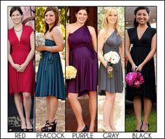 A bridesmaid dress idea.