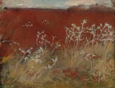 John Singer Sargent (1856-1925) Thistles bears artist's estate stamp (on the reverse) oil on canvas 22¼ x 28¼ in. Painted circa 1883.