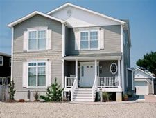 1000 images about custom modular homes we 39 ve built on for Narrow lot modular homes