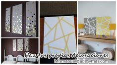 25 cuadros decorativos para tu casa fáciles de hacer