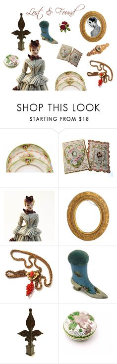 """""""lost & found"""" by seasidecollectibles ❤ liked on Polyvore featuring interior, interiors, interior design, home, home decor, interior decorating and vintage"""