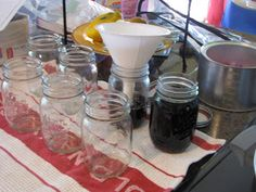 Homemade-Canning Maple Syrup