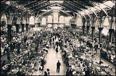 inauguración del Mercado Central, allá por 1920