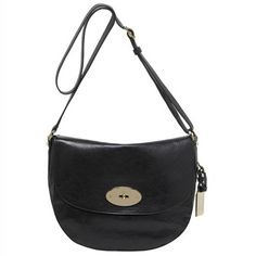 Mulberry Shoulder Backpack Postman's Lock Black #fashionhandbags