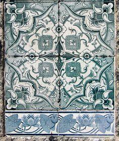 Azulejos antigos no Rio de Janeiro: Catumbi I - rua do Catumbi