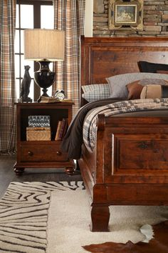 Imperial Bedroom Collection show in our new Olde World finish.