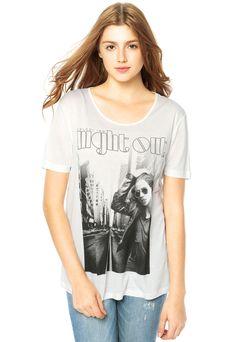 Camiseta Colcci Branca - Compre Agora | Dafiti Brasil