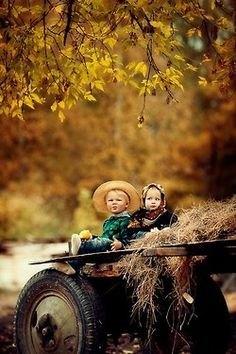 Take the kids for a hay ride this fall