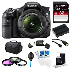 Sony SLT-A58K A58 A58K SLTA58K Digital SLR Kit with 18-55mm Zoom Lens, 20.1MP SLR Camera with 3-Inch LCD Screen (Black) Ultimate Bundle with 32GB High Speed SD Card, Gadget Bag, Spare Battery, Filter Kit, SD Card Reader, 6ft. Micro HDMI Cable + More!  http://www.lookatcamera.com/sony-slt-a58k-a58-a58k-slta58k-digital-slr-kit-with-18-55mm-zoom-lens-20-1mp-slr-camera-with-3-inch-lcd-screen-black-ultimate-bundle-with-32gb-high-speed-sd-card-gadget-bag-spare-battery-filter-2/