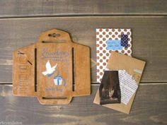zakka Antique Style vintage ANTICCA POULAIN wood DIY Envelope template stencil | eBay