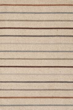 Stone House Stripe Wool Woven Rug