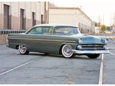 1956 Ford Victoria Maintenance/restoration of old/vintage vehicles: the material for new cogs/casters/gears/pads could be cast polyamide which I (Cast polyamide) can produce. My contact: tatjana.alic@windowslive.com