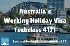 Interested in spending your gap year in Australia? Then click here for info on Australia's Working Holiday 417 visa and how to get your visa in 48 hours.