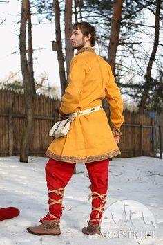 Prince of Denmark medieval tunic dark-ages costume set Medieval Tunic, Viking Tunic, Viking Garb, Viking Reenactment, Viking Men, Viking Clothing, Historical Clothing, Dark Ages, Vikings