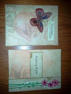 Cards I made for Operation Write Home