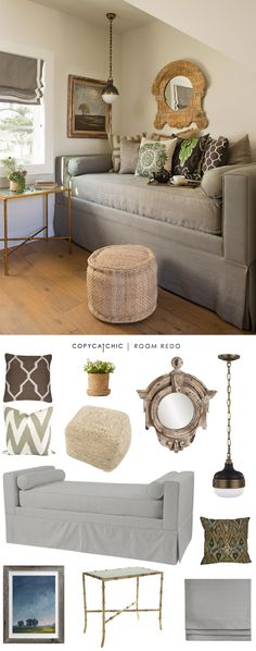Copy Cat Chic: Copy Cat Chic Room Redo   Earthy Reading Nook by @audreycdyer