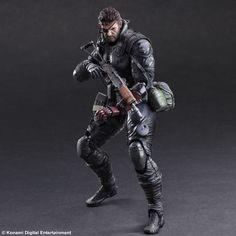 Venom Snake Sneaking Suit Version (Metal Gear Solid 5 The Phantom Pain) Play Arts Kai Actionfigur 27cm SquareEnix