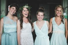 Decoración de bodas en azul. http://www.webnovias.com/