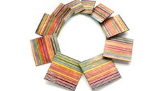 patternprints journal: PATTERNS WITH COLORED PENCILS IN CONTEMPORARY JEWELRY BY MELISSA ARIAS