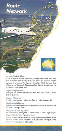 Impulse route map 1999