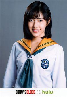 Mayu crow's Blood photos, #MayuWatanabe #Mayuyu #Kawaii #Pretty #jpop #idol #seifuku #school uniform #CrowBlood