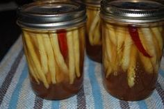 My daughter was given pickled yellow wax beans at a friend's grandparents place. Both girls absolutely loved them and devoured an entire jar in one sitting. I was asked to plant beans in the …