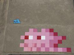2016. Space Invaders, Toulouse, France © C. Sabatier - office de tourisme de Toulouse #visiteztoulouse