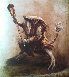 La biblioteca del Gran Nigromante: Guerreros Fimir (Monstrous Arcanum)