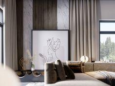 SHADES OF BEIGE on Behance Shades Of Beige, 3ds Max, Floor Design, Ground Floor, Villa, Behance, Graphic Design, Flooring, Interior Design