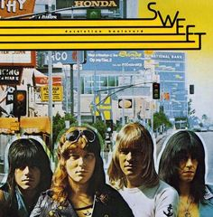 The Sweet - Andy Scott, Steve Priest, Brian Connolly & Mick Tucker - the greatest rock band ever!  http://www.thesweetband.com/index.html  http://thesweet.com/